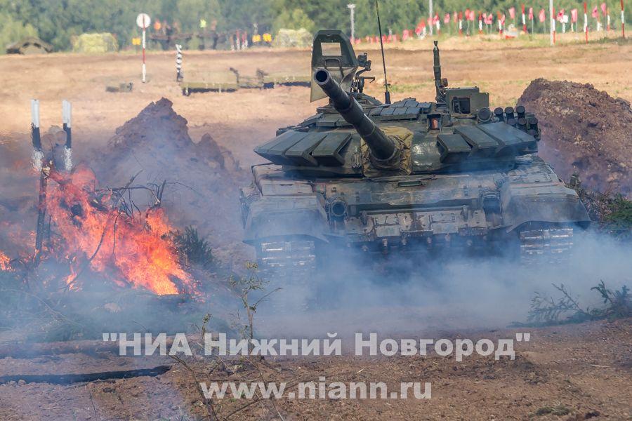 На первые международные армейские игры в РФ