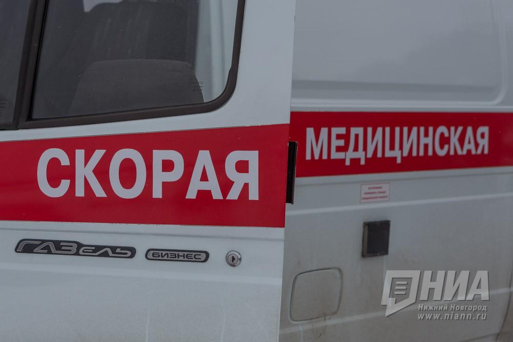 Социальный автобус вНижнем Новгороде сшиб столб: пятеро пострадавших