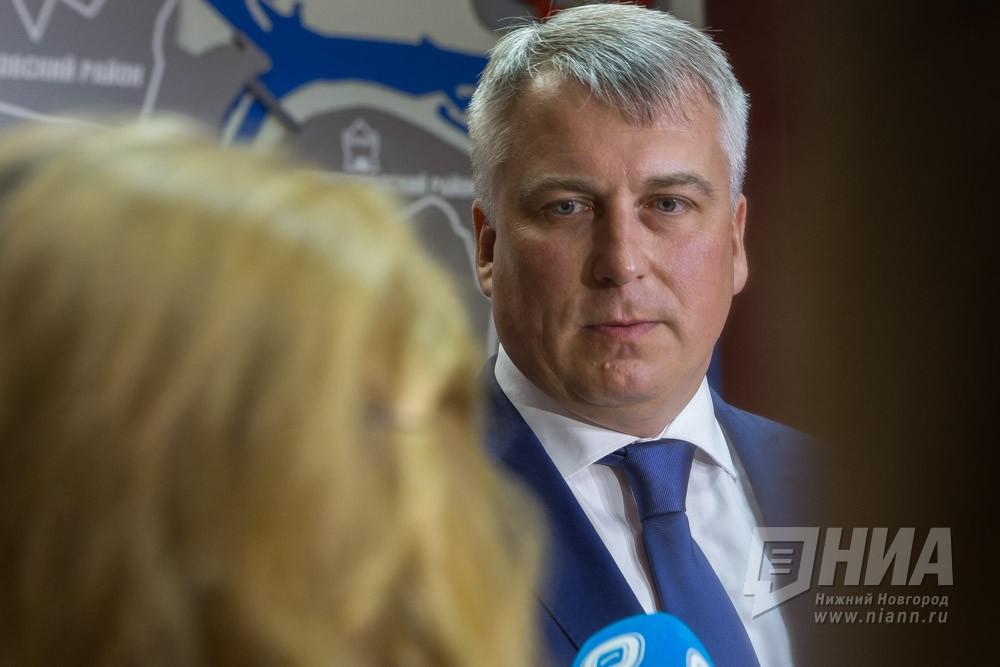 Руководитель администрации Нижнего Новгорода Сергей Белов дал подписку оневыезде