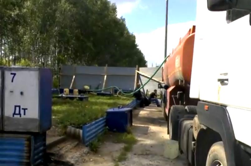 Банду похитителей топлива задержали вНижегородской области