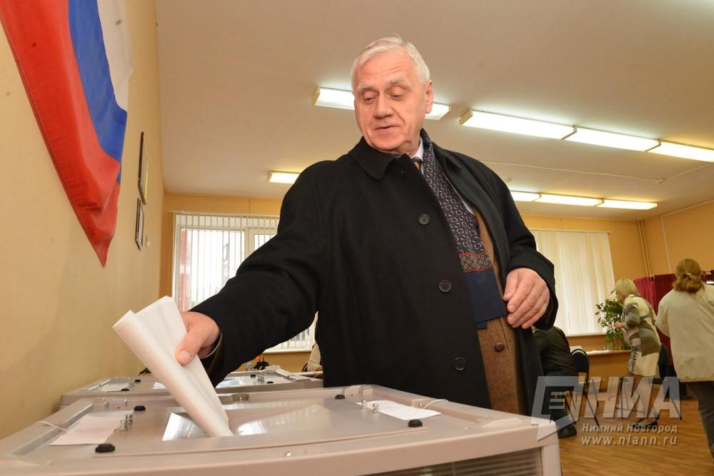 Юрий Лебедев лидирует навыборах вЗаксобрание Нижегородской области поокругу №5