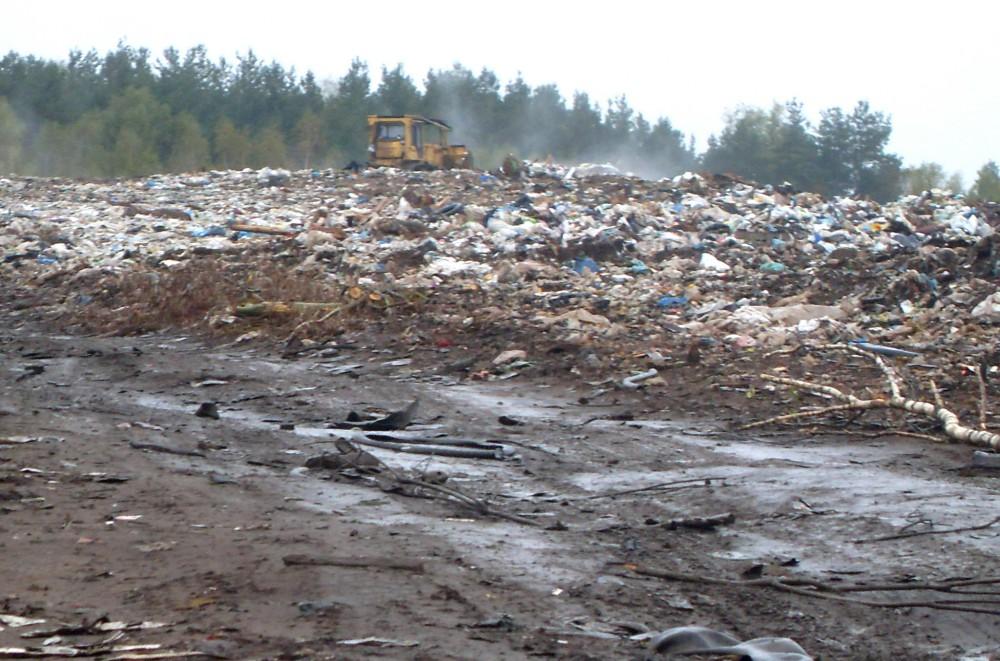Нелегальную свалку отходов обнаружили вКулебакском районе