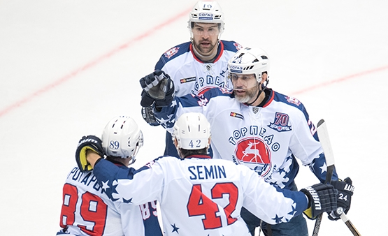 «Торпедо» навыезде обыграло «Сочи» вматче постоянного чемпионата КХЛ