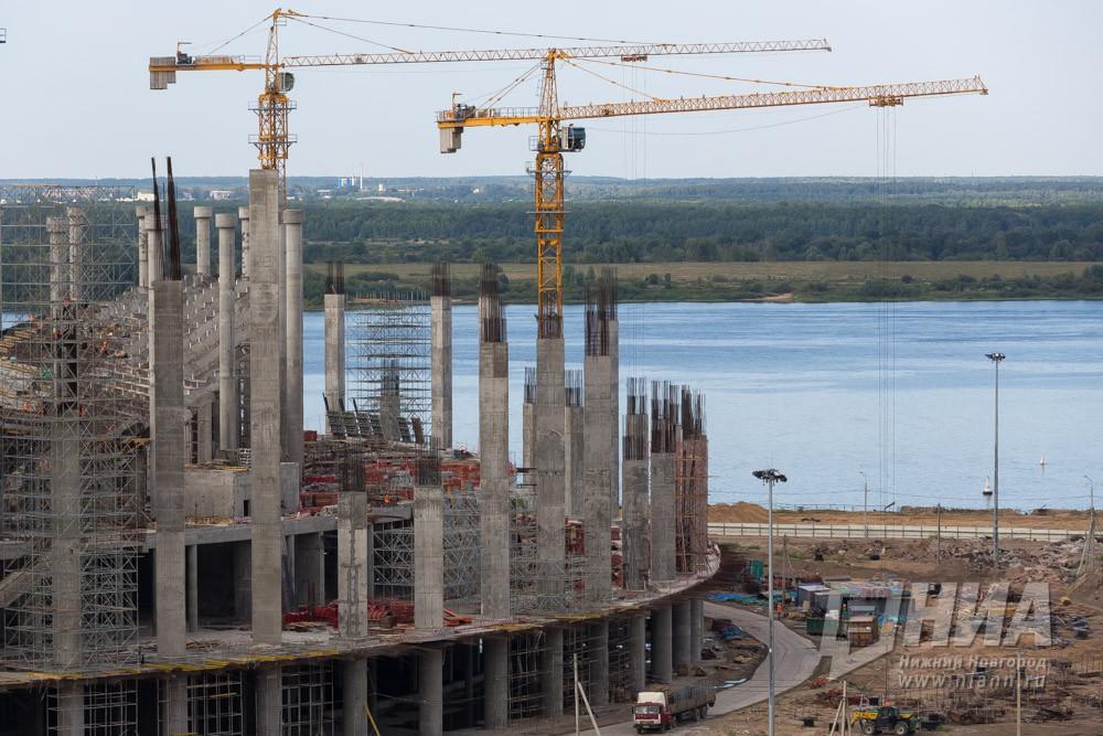 Срок сдачи стадиона «Волгоград Арена» перенесли на 2018г