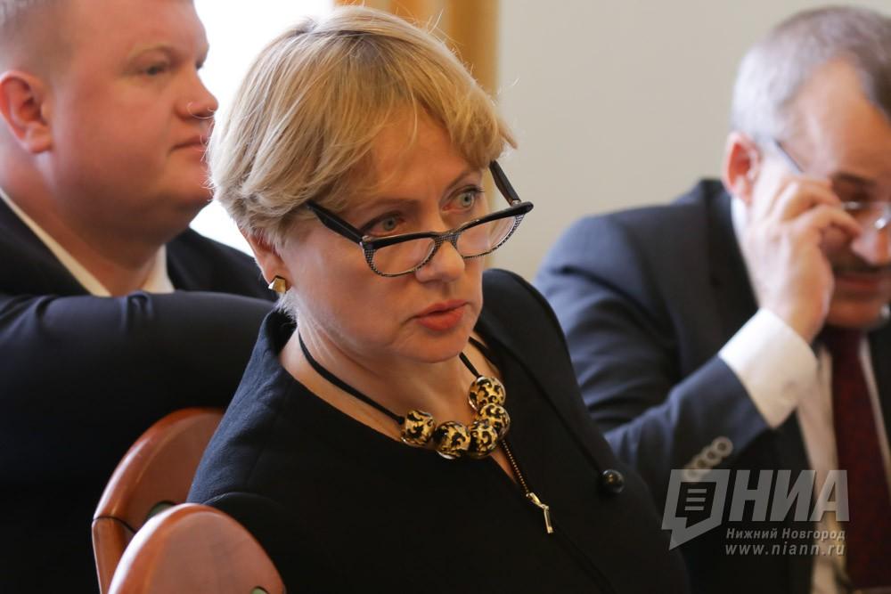 Ольга Носкова стала советником Валерия Шанцева