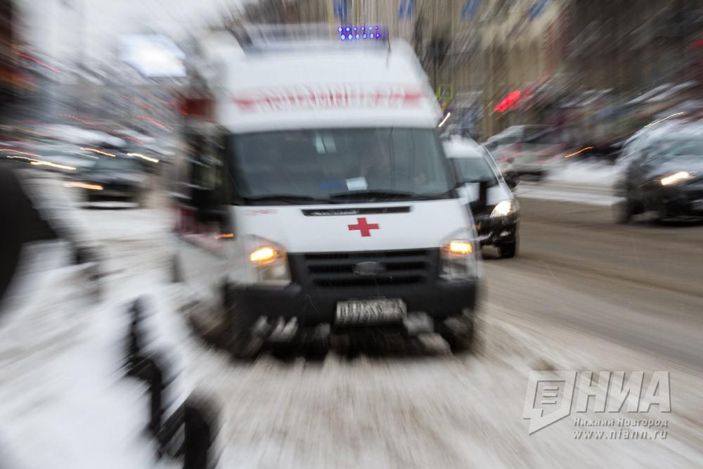 ВНижегородской области шофёр Сеат умер, врезавшись в грузовой автомобиль