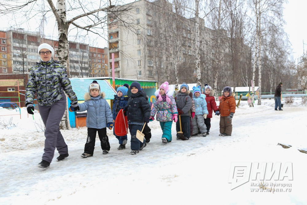 ВНижегородской области накарантин поОРВИ закрыты два детсада