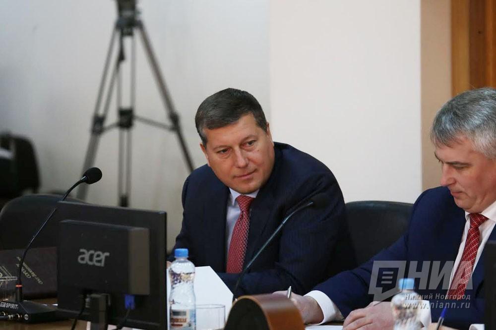 Новости о сорокине главе нижнего новгорода