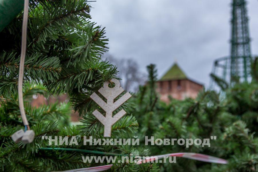 Нижний Новгород украсят кНовому году за11,765млнруб.