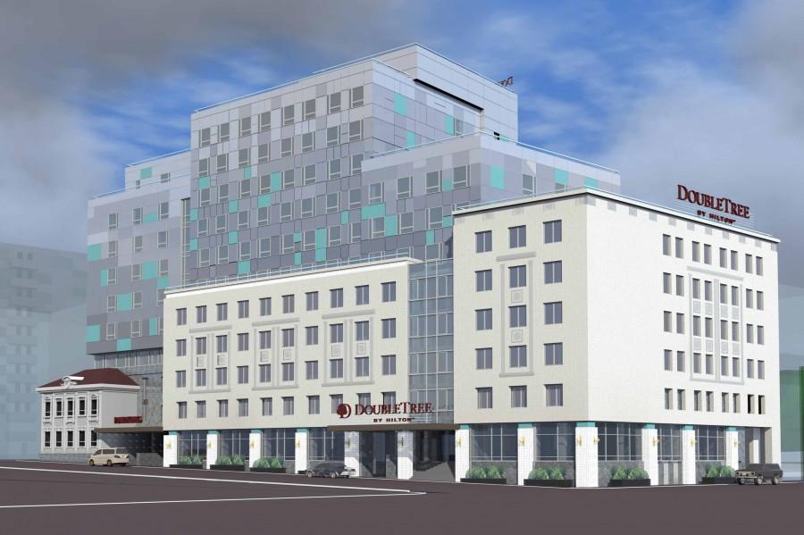 Отель Hilton вНижнем Новгороде планируют сдать вIквартале 2018 года