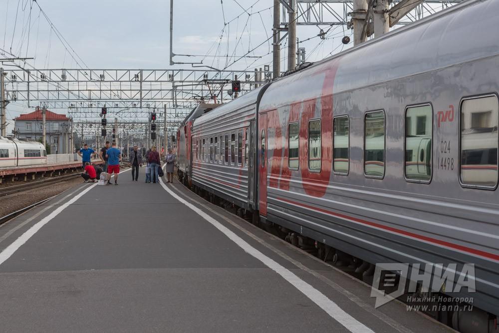Электричка насмерть сбила мужчины под Нижним Новгородом