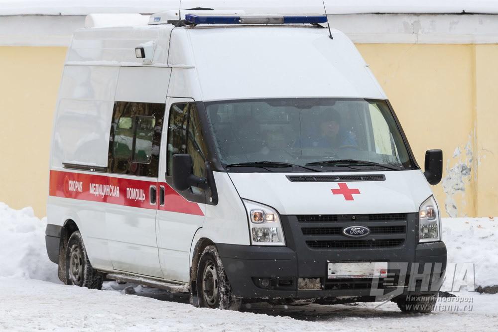ВНижнем Новгороде мужчина пострадал вмассовом ДТП с грузовым автомобилем