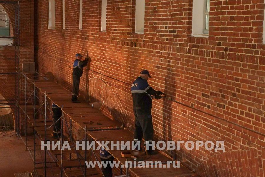 Нареставрацию Нижегородского кремля хотят потратить неменее 20 млн руб.
