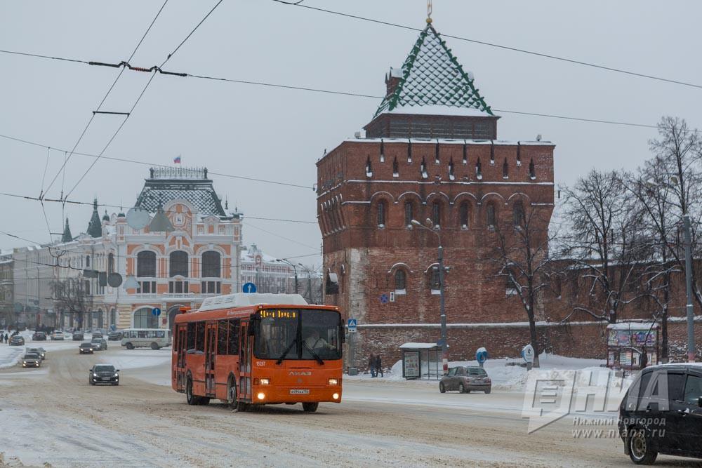 Нижний Новгород закупит 50 новых автобусов доконца июня 2017