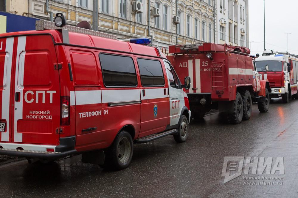 Сооружение  наСредном рынке горело вНижнем Новгороде 11января