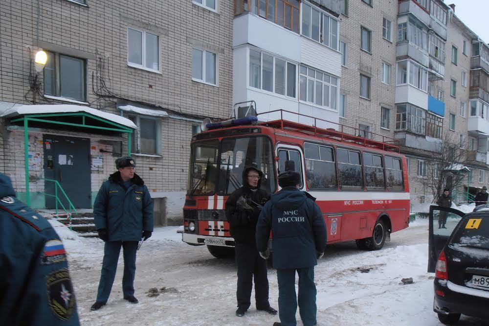 ВДзержинске доступ ваварийный дом наБуденного запрещен до1марта