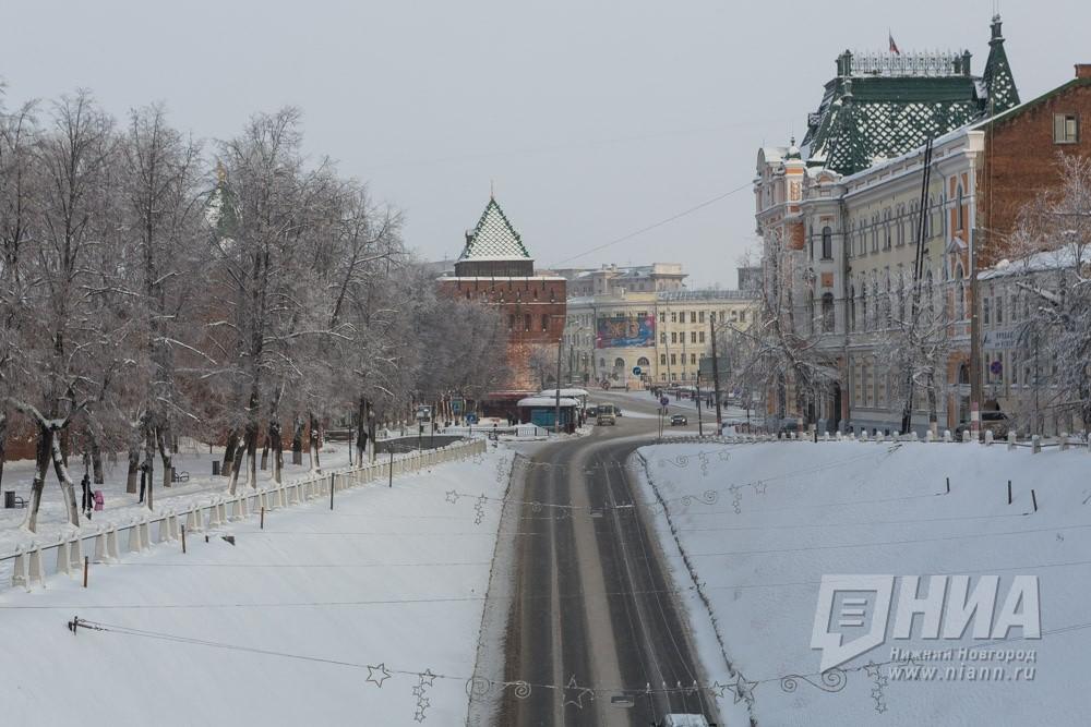 ВНижегородской области 6февраля предполагается резкое похолодание