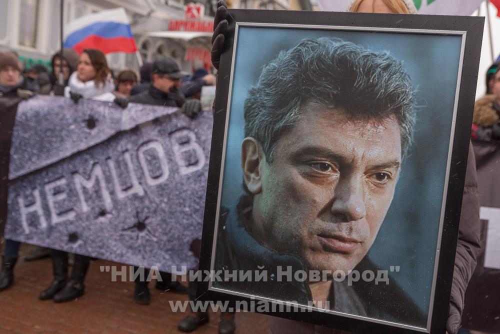 ВПетербурге пройдет марш памяти Бориса Немцова