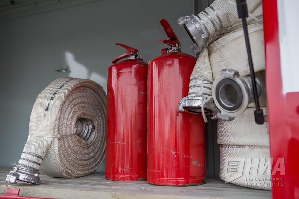 Пенсионер иего 52-летний сын погибли впроцессе пожара вДзержинске