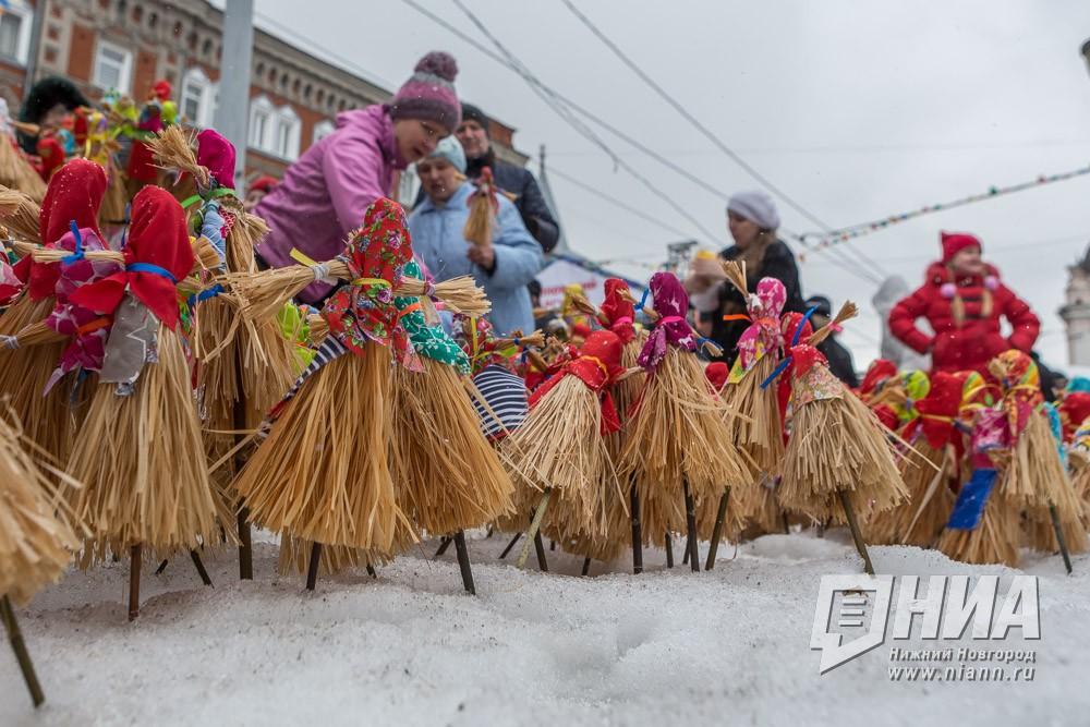 Масленичные гуляния пройдут наплощади Горького вНижнем Новгороде