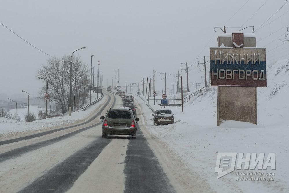 Временное ограничение движения тяжеловесного транспорта вводится с1апреля вНижегородской области