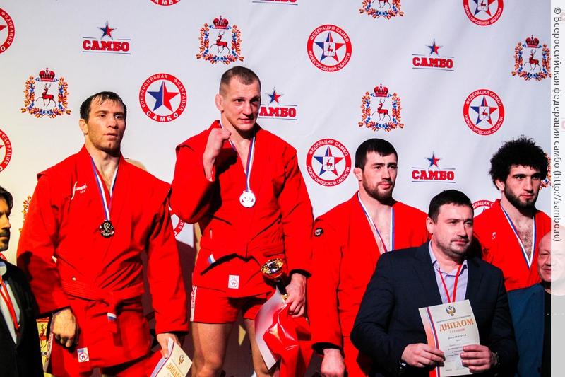 Вячеслав Василевский стал чемпионом Российской Федерации побоевому самбо