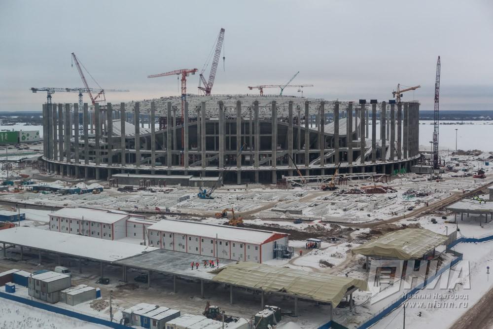 В200 млн. руб. оценивается ремонт дороги кстадиону «Нижний Новгород»