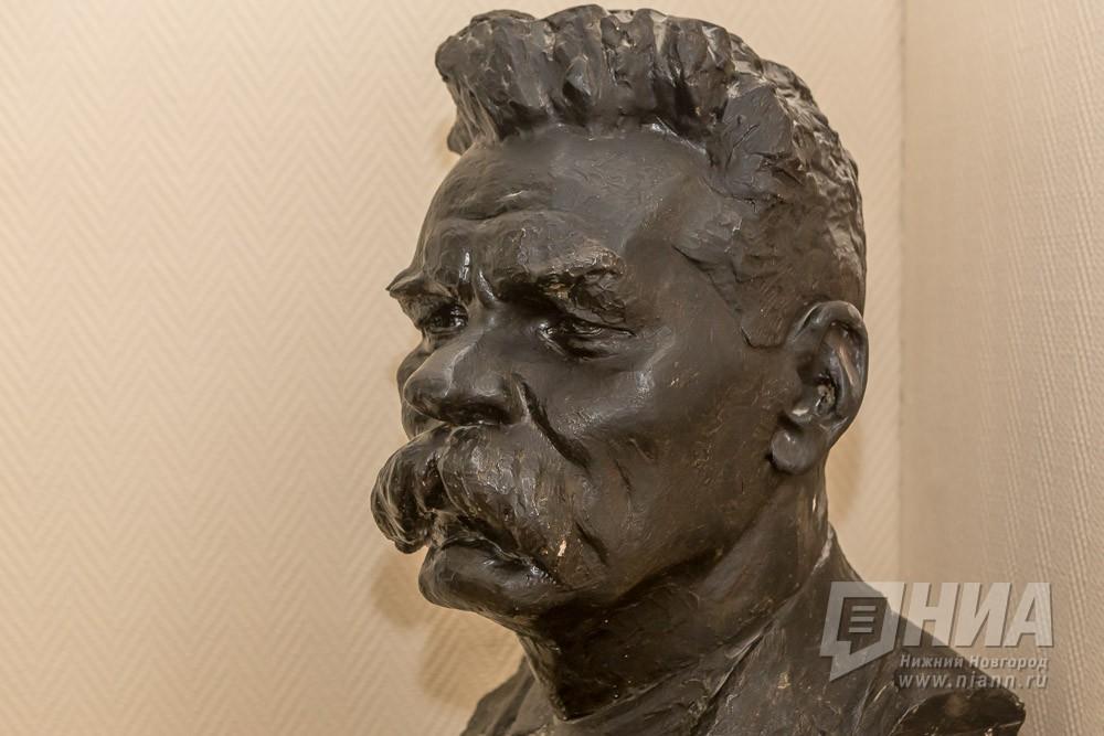 Монумент Максиму Горькому может быть возвращен впарк Кулибина