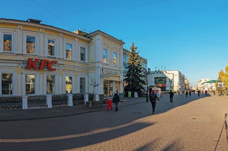 Нижегородским предпринимателям запретили использовать вывески слатинскими буквами