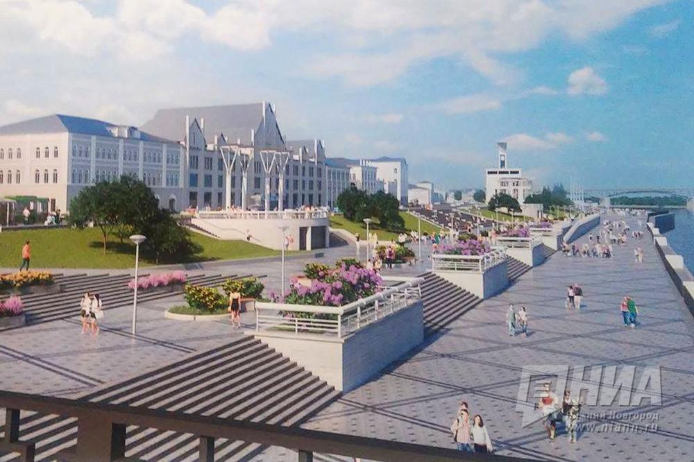 Деньги нареконструкцию Нижневолжской набережной выделят весной