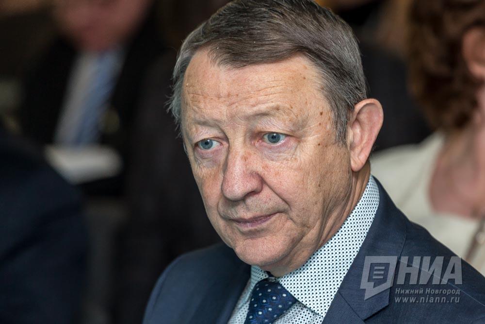 Борис Шахов уходит споста ректора НижГМА