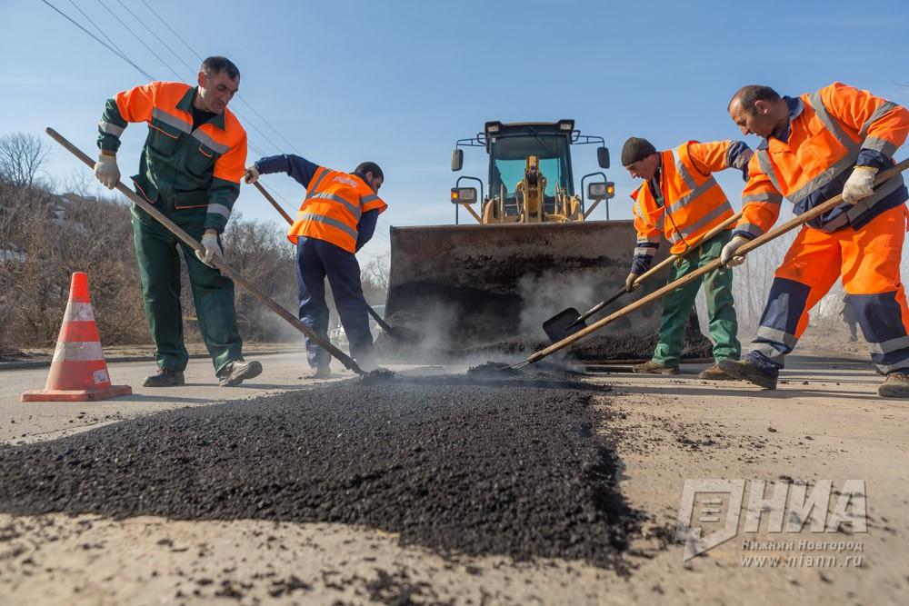 Масштабный ремонт дорог вНижнем Новгороде начнется всередине апреля