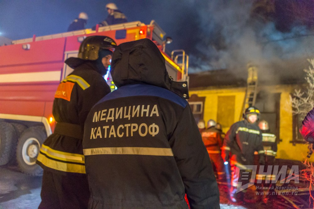 Женщина погибла впожаре  вСемёновском районе Нижегородской области