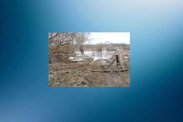 Автомобильный мост через реку Пьяна затопило вГагинском районе