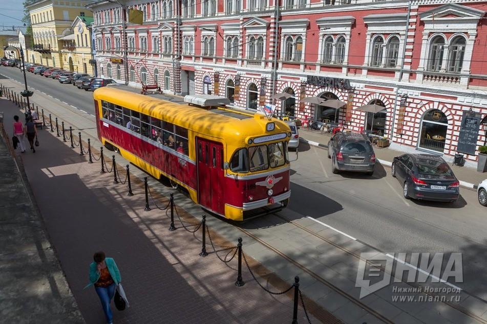 Движение трамваев №1,3 и7 закроют вНижнем Новгороде