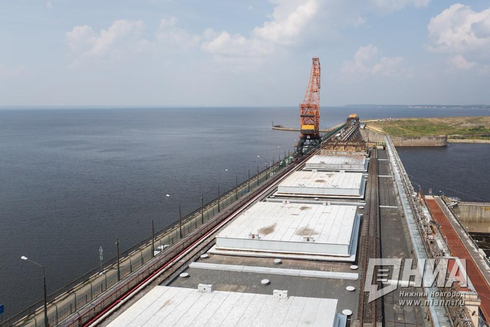 Помосту Нижегородской ГЭС вновь пустили грузовые автомобили до15 тонн