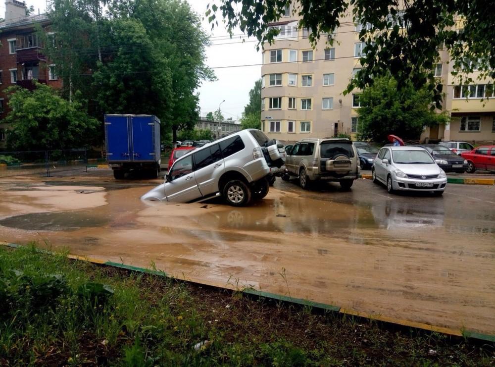 Наулице Полтавской произошел прорыв водопровода— Водоканал
