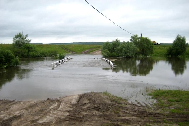 Три моста затоплены вНижегородской области из-за проливных дождей