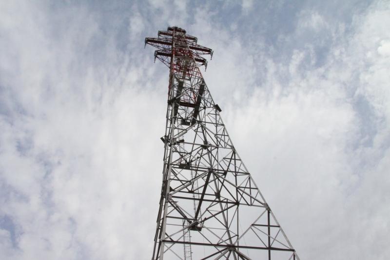 Двое нижегородцев залезли на106-метровую опору ЛЭП ради селфи