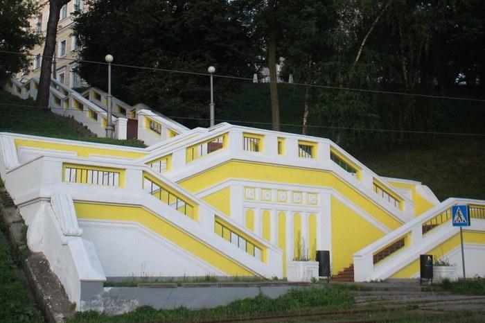 Горадминистрация объявила аукцион наремонт Театральной лестницы вНижнем Новгороде