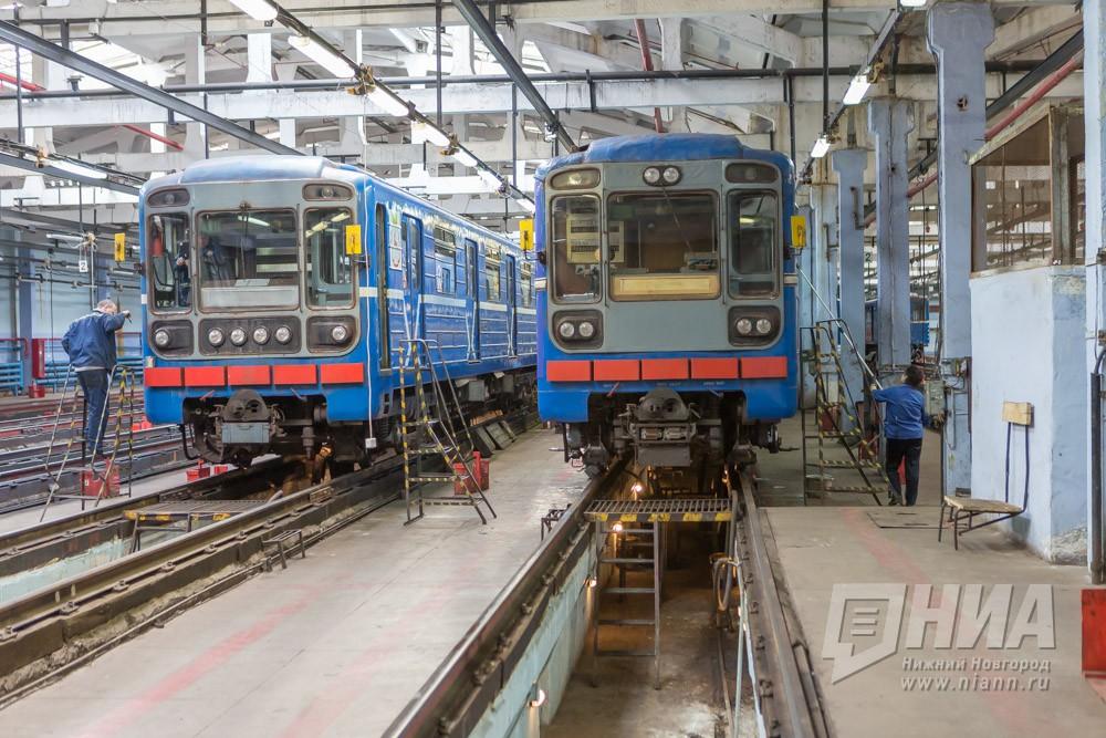Нижегородское метро закупит 23 новых вагона за1,89 млрд руб.