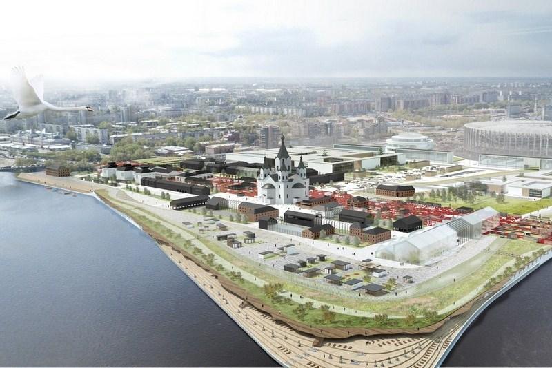 Выбран лучший проект развития нижегородской Стрелки