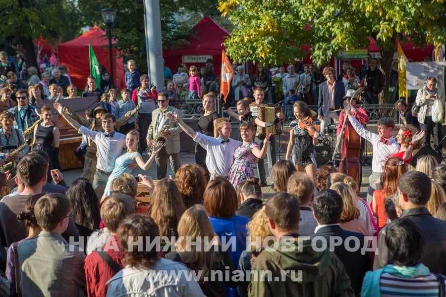 «День улицы Рождественской» проходит вНижнем Новгороде 23сентября