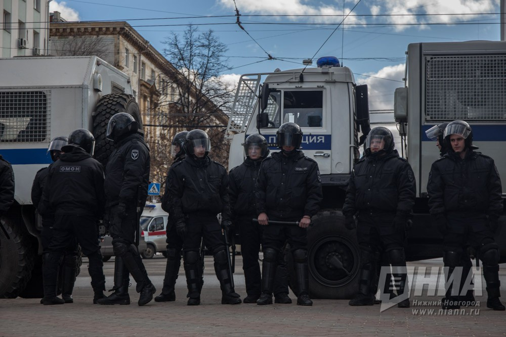 Нижегородское МВД предупреждает опроведении несогласованной акции 29сентября
