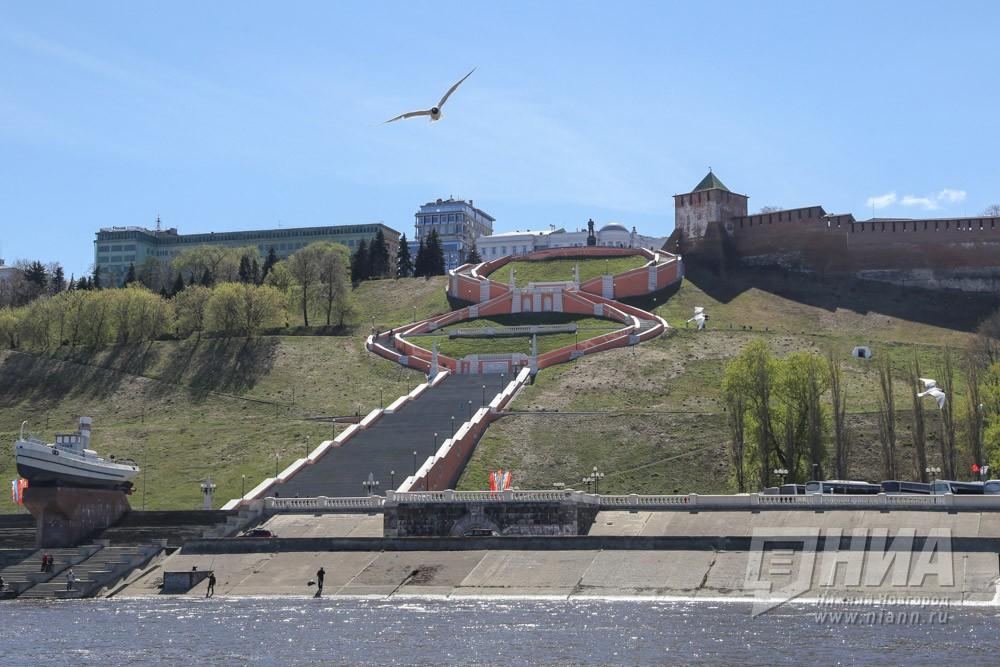 ВНижнем Новгороде появится самая длинная вмире набережная
