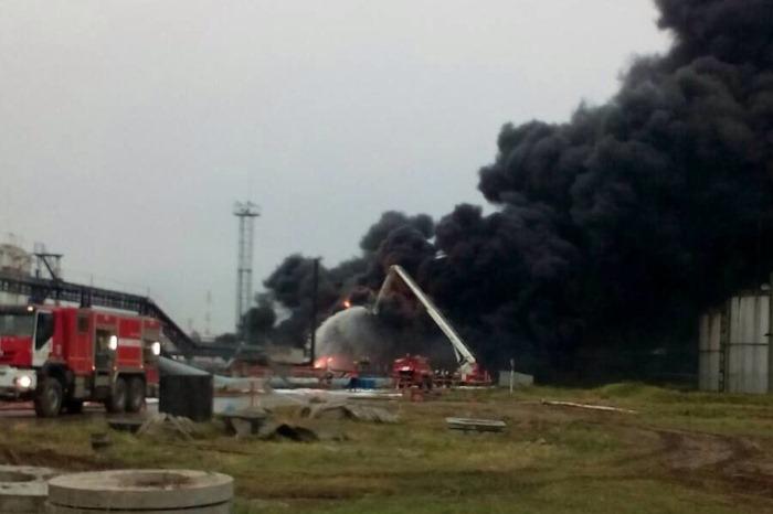 Возгорание натерритории НПЗ вНижегородской области устранено