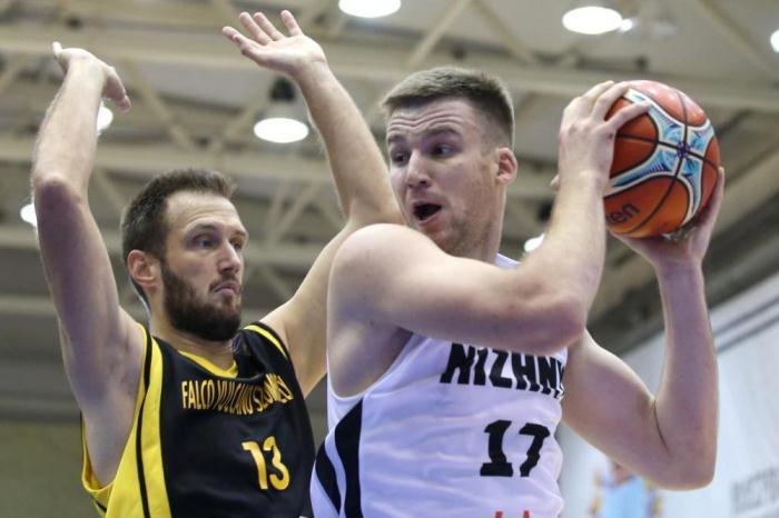 Нижегородские баскетболисты обыграли венгерский клуб «Фалко Вулкано» вКубке Европы