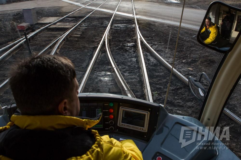 Движение трамваев вцентре Нижнего изменено с25октября