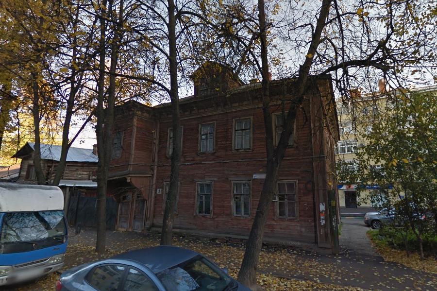 Потолок обвалился вдоме поул.Новая вНижнем Новгороде