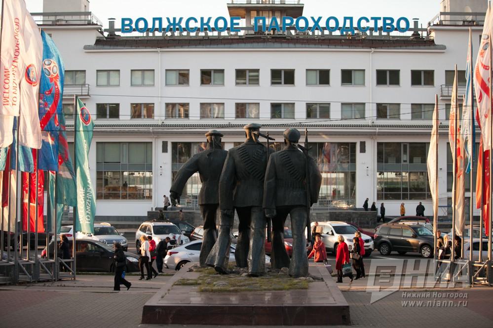 Нижневолжская набережная вНижнем Новгороде благоустроена практически на50 процентов
